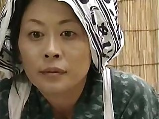 Horny Japanese Housewife Orgasms on the low
