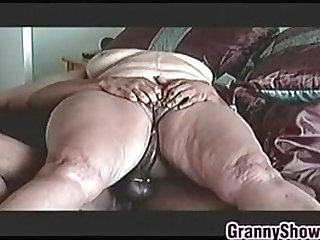 Big Granny On Riding Some Cock