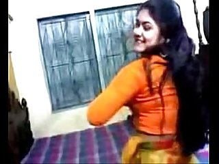 Bangladeshi Girl is Showing Her Asset Nipa