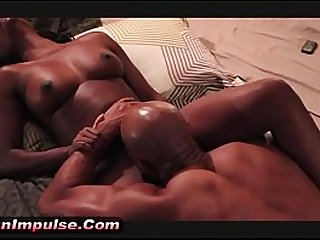 XT REAL ORGASM Candace Cums Hard On Xaviers Tongue