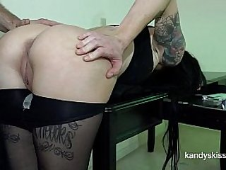 Creampie Blast Cum on Pussy Pantyhose Drip HD