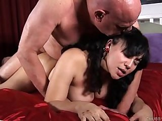 Kinky brunette loves a hard fucking and a facial cumshot
