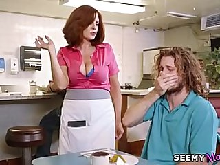 Big tip for the waitress Andy James