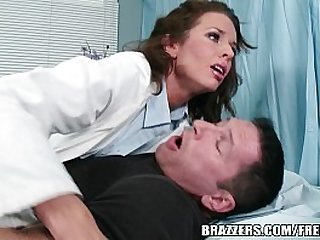 Veronica Avluv helps her paitent with his problem