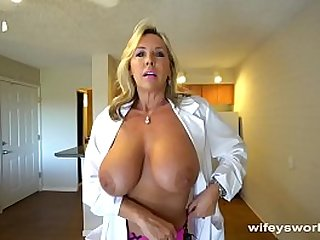 Busty Sex Dr Finger Banged Before Her Cum Facial