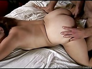 Busty BBW beauty loves fucking and facial cumshots