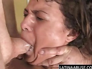 Throated Allura Sweet hard Abuse