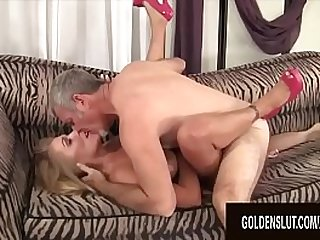 Golden Slut Stunning Mature Blondes Getting Drilled Compilation