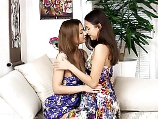 Fingering Climaxers by Sapphic Erotica lesbian sex with Lidia Dulce