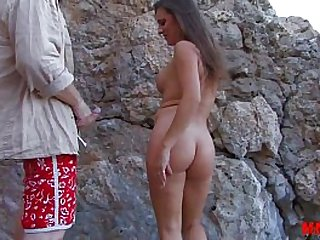 Hot milf fucked at the beach with lot of squirt and anal