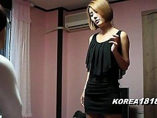 Gorgeous Korean Babe Fucks Ugly Nerd