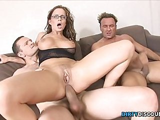 Dped babe gets facialized