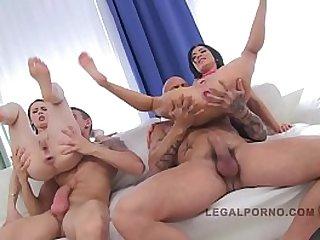 LEGALPORNO FULL SCENE Timea Sandra sluts on cocks
