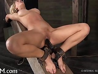 Playgirl gets her twat engorged