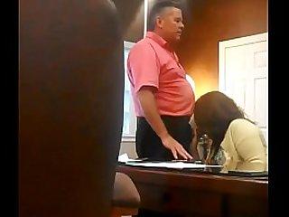 College Girl Sucks His Teachers Fat Cock In Empty Class