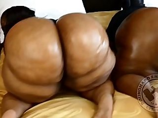 GIGANTIC BLACK BUBBLE BUTT BBWS TWERKING